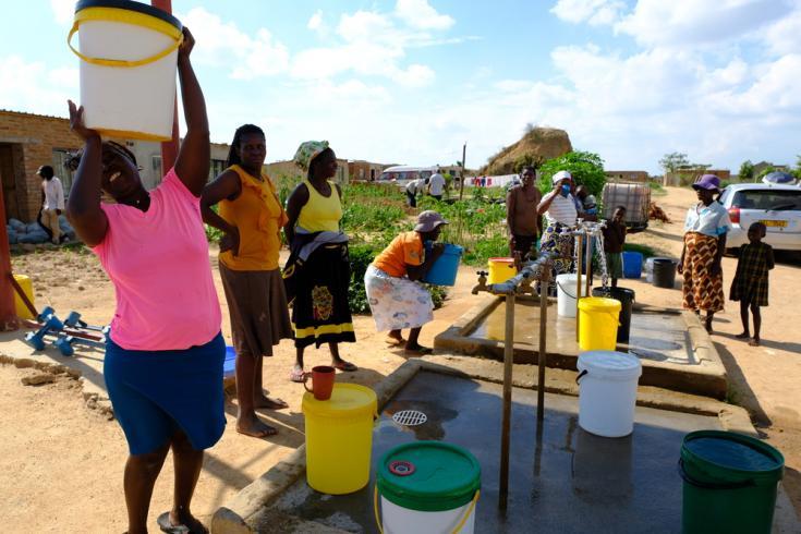 Actualmente MSF gestiona cinco proyectos en Zimbabue. Uno de ellos se encuentra en la capital, Harare, y está enfocado en brindar servicios de agua y saneamiento.