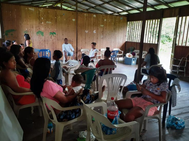Entre finales de 2019 y principios de 2020 se han producido al menos siete desplazamientos masivos y cuatro confinamientos poblacionales en varios municipios del Pacífico Narinense, Colombia.