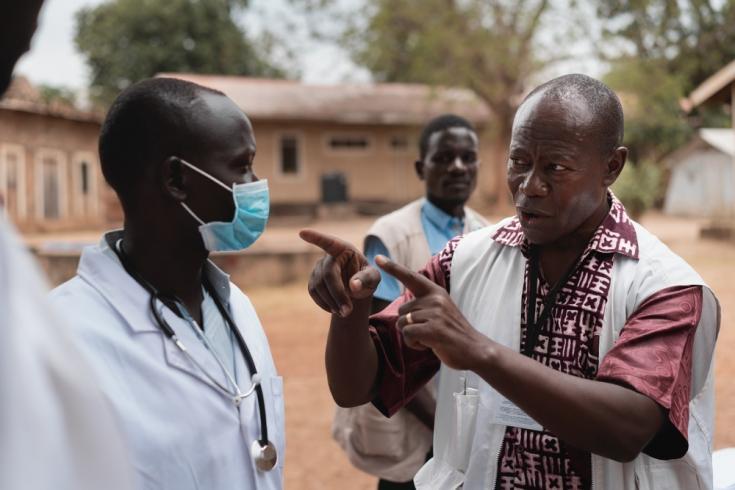Intervención de COVID-19 en Sudán del Sur.
