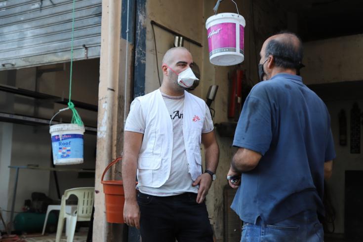 La necesidad de apoyo en salud mental para las personas en Beirut ha aumentado significativamente desde la explosión masiva que golpeó la ciudad en Líbano.