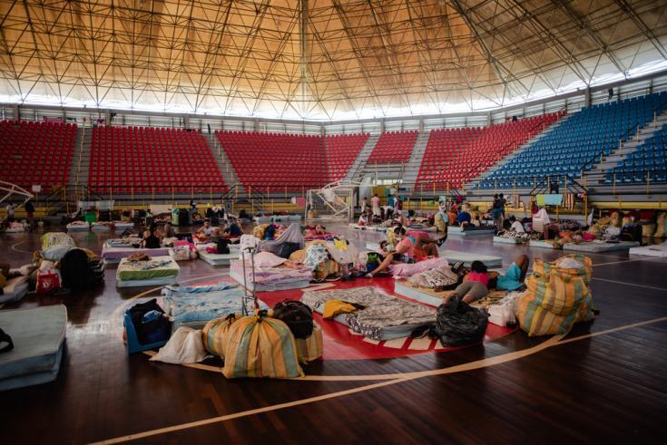 Los venezolanos que regresaron a su país como consecuencia de la pandemia COVID-19 deben cumplir una cuarentena preventiva en centros instalados por las autoridades en el estado fronterizo de Táchira.