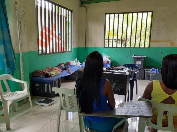El Equipo Móvil de Respuesta a Emergencias de Médicos Sin Fronteras, prestó atención en salud física y salud mental a las comunidades desplazadas desde el día 17 hasta el día 28 de enero de 2020.