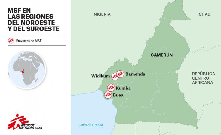 Médicos Sin Fronteras en Camerún