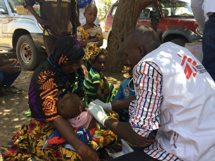 Asistencia humanitaria en Mali