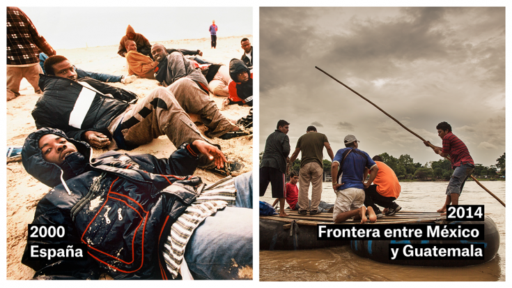 España 2000 - Frontera entre México y Guatemala 2014