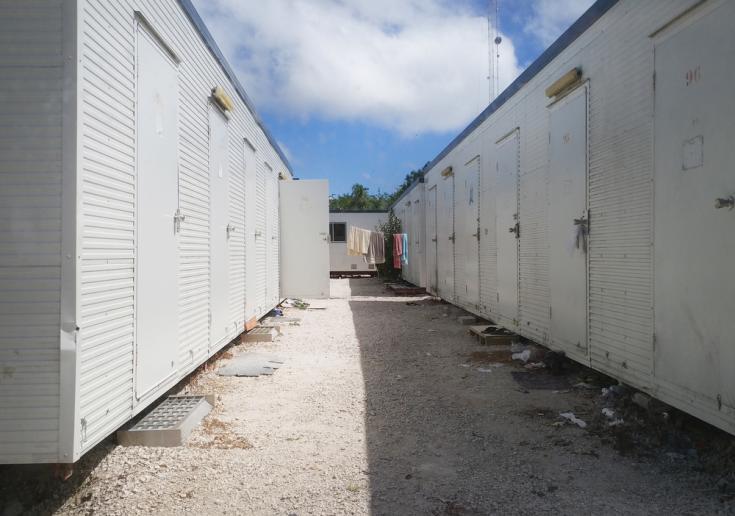 Refugiados y solicitantes de asilo en la isla de Nauru
