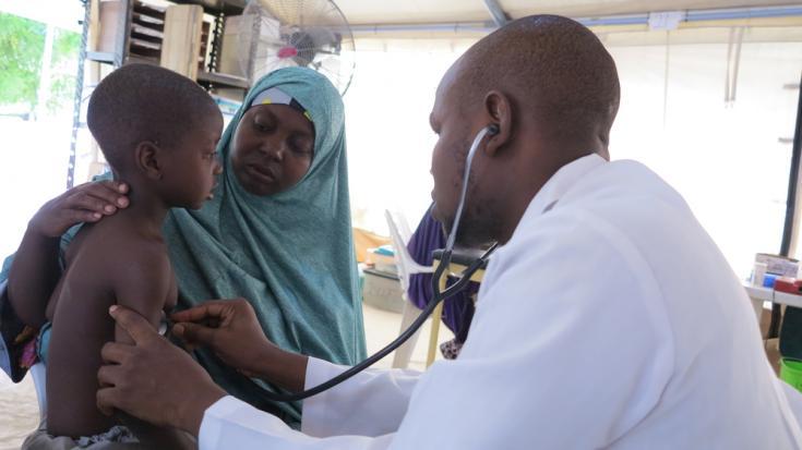 Niños con riesgo de contraer sarampión