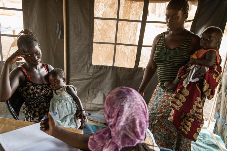 Clínica móvil en Sudán del Sur