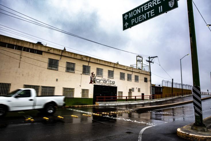 Centro de migrantes en México