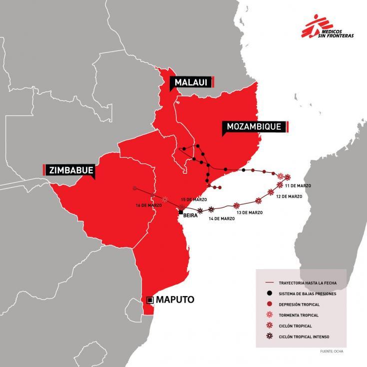 Cómo fue el paso del ciclón Idai en Mozambique, Malaui y Zimbabue
