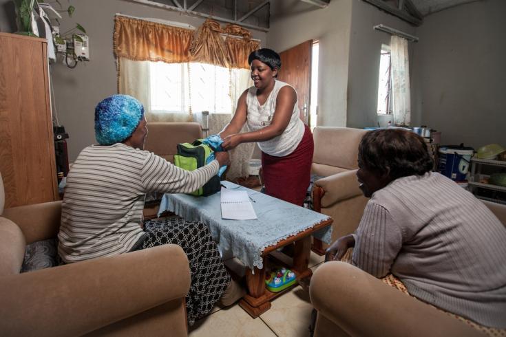 Luchar contra el VIH en las comunidades
