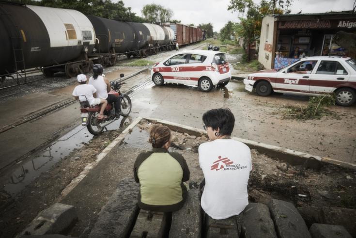 Atención médico humanitaria a migrantes en México