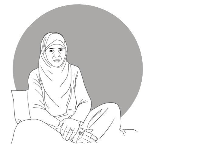 Nahla Saleh (ilustración).