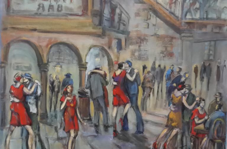 Angely Martinez - Patio de tango
