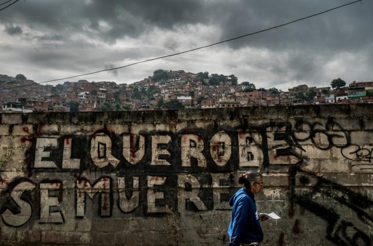 El distrito de Petare es considerado uno de los más peligrosos de América Latina ©Marta Soszynska / MSF