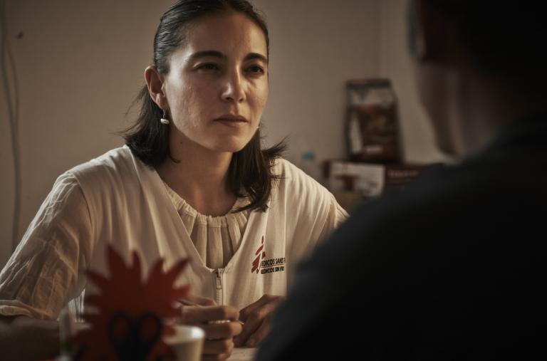 Tenosique, Tabasco. MSF asiste a esta población en tránsito por México y ha sido testigo de las múltiples afectaciones médicas y de salud mental que estas situaciones de violencia les acarrea. © Christina Simons/MSF