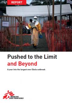 Ébola: Empujados más allá del límite