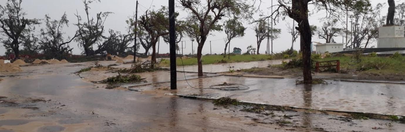 Inundaciones en Beira Mozambique