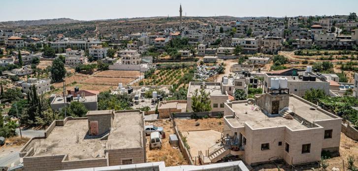 Hebrón, en Cisjordania, donde MSF ha estado apoyando el tratamiento de pacientes con COVID-19.