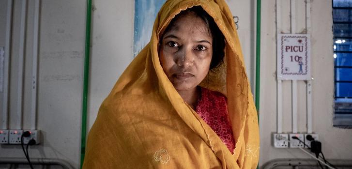 Refugiada rohingya en Bangladesh, julio de 2021