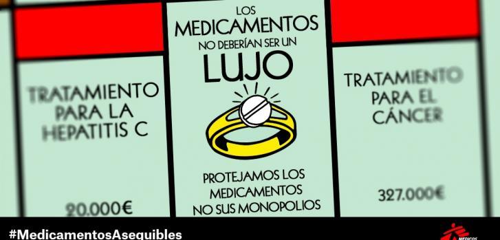 Los medicamentos no deberían ser un lujo