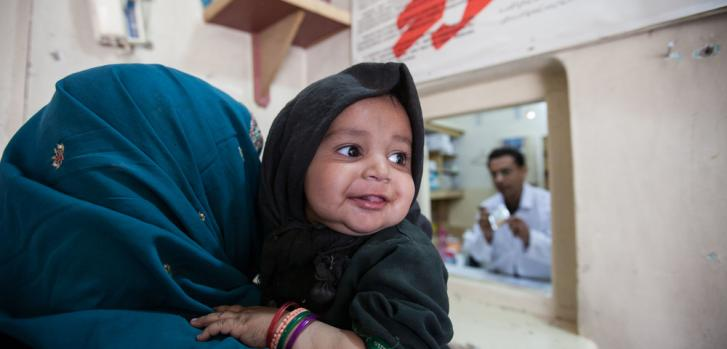 Salud materno infantil en Pakistán