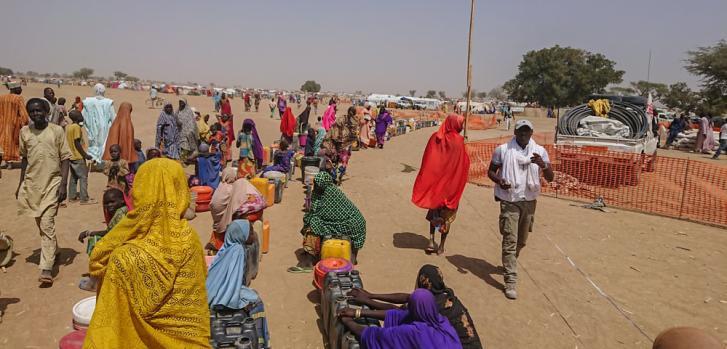 Emergencia en Nigeria por conflicto armado