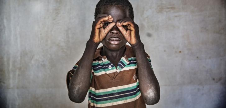 Desplazado por el conflicto en Níger