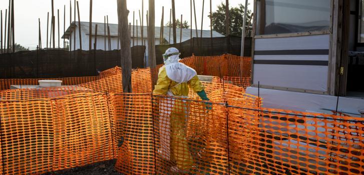 Brote de Ébola en República Democrática del Congo