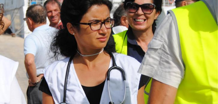Ernestina Repetto, médica especialista en enfermedades infecciosas.