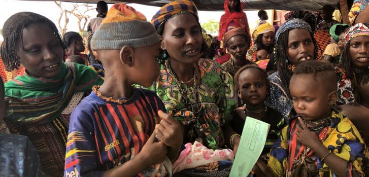 Campaña de vacunación en República Centroafricana
