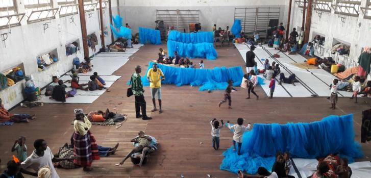 Ciclón Idai en Mozambique sobreviviente