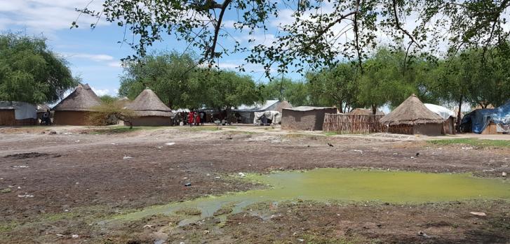 Vista de una aldea en Pieri. (Foto: 2017)