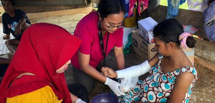 Desastre natural en Indonesia