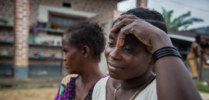 Paciente embarazada Médicos Sin Fronteras