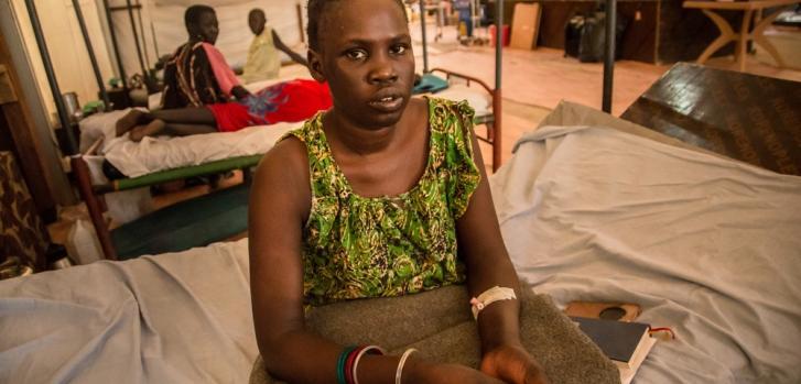 Martha ingresó en nuestro hospital a finales de marzo de 2019 porque se sentía mal y padecía graves problemas respiratorios. Mejoró tras una semana de tratamiento.