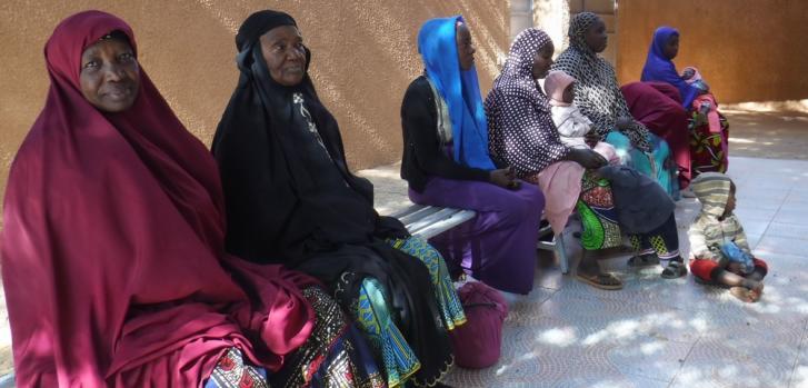 Personas forzadas a huir de África occidental