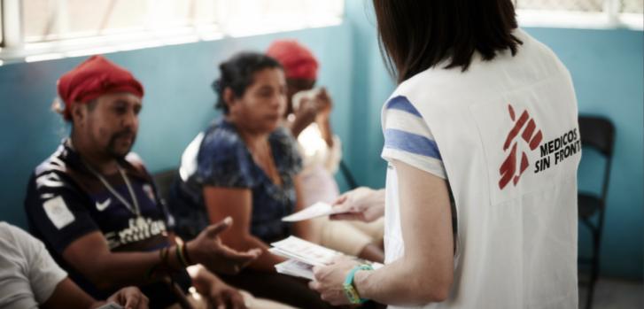 Desde 2012, los equipos de Médicos Sin Fronteras (MSF) brindan atención en México a la población vulnerable que huye de la violencia en Honduras y El Salvador, principalmente. ©Christina Simons/MSF