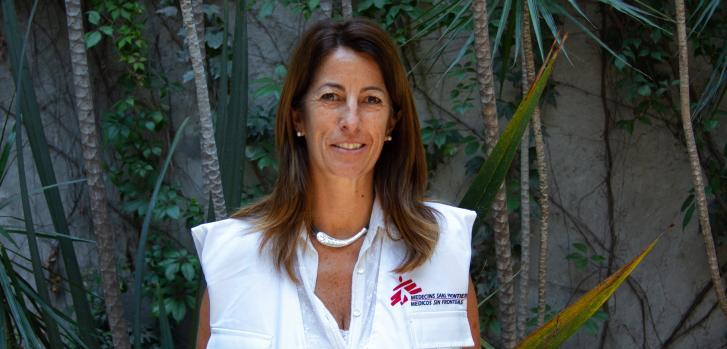 María Rado, responsable de la emergencia COVID-19 en México.