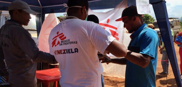 Médicos Sin Fronteras en Venezuela
