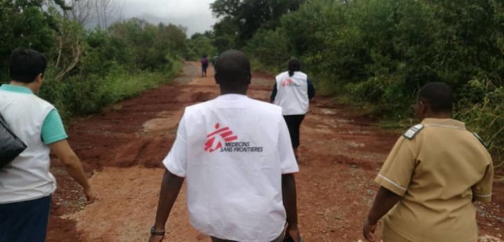 Ayuda humanitaria tras el ciclón Idai
