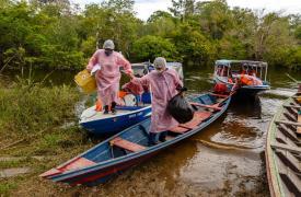 Intervenciones de MSF en Brasil