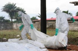 Centro de MSF en Monrovia, Liberia © Caroline Van Nespen/MSF