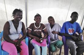 Nuevo centro de Ébola en Sierra Leona de Médicos Sin Fronteras