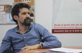 David Cantero Pérez, director de la oficina regional de Médicos Sin Fronteras en Buenos Aires