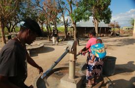 Ciclón Idai en Mozambique