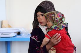 Desplazados de Afganistán