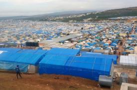 Campo de desplazados en Atmeh, Siria © MSF