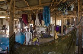 Desplazados por el conflicto en Nigeria