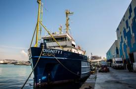 Dignity I el tercer barco en que Médicos Sin Fronteras despliega operaciones de búsqueda y rescate en el Mar Mediterráneo